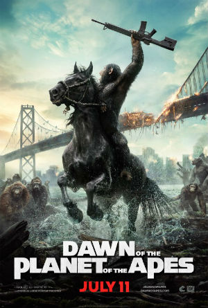 science-fiction dawn of the planet of the apes
