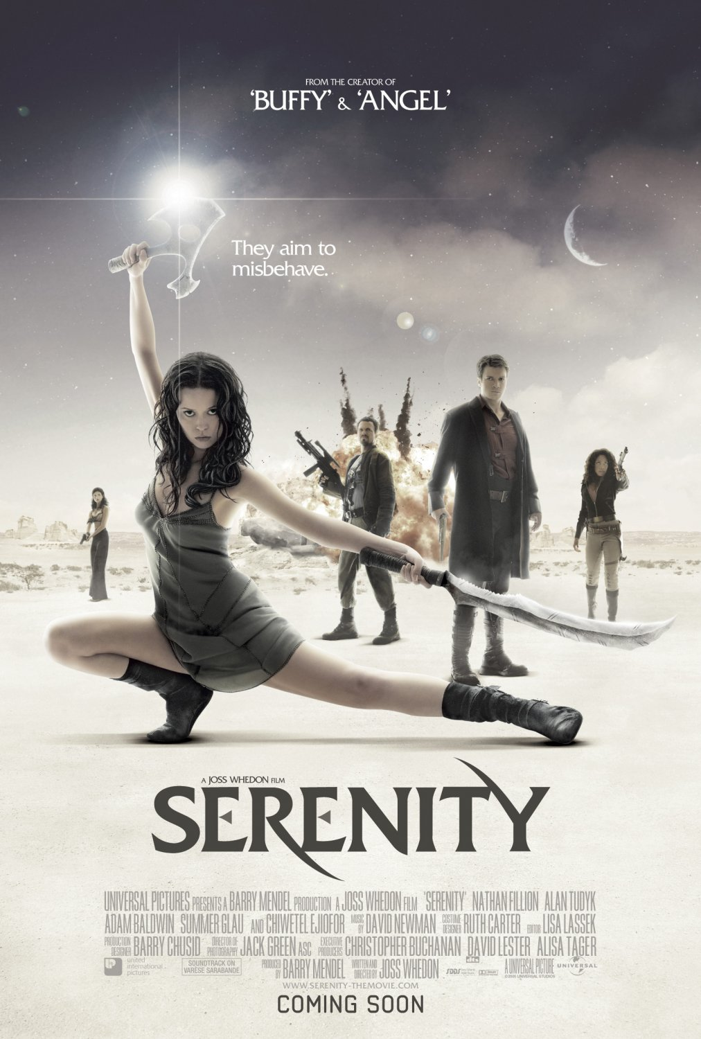 science-fiction serenity