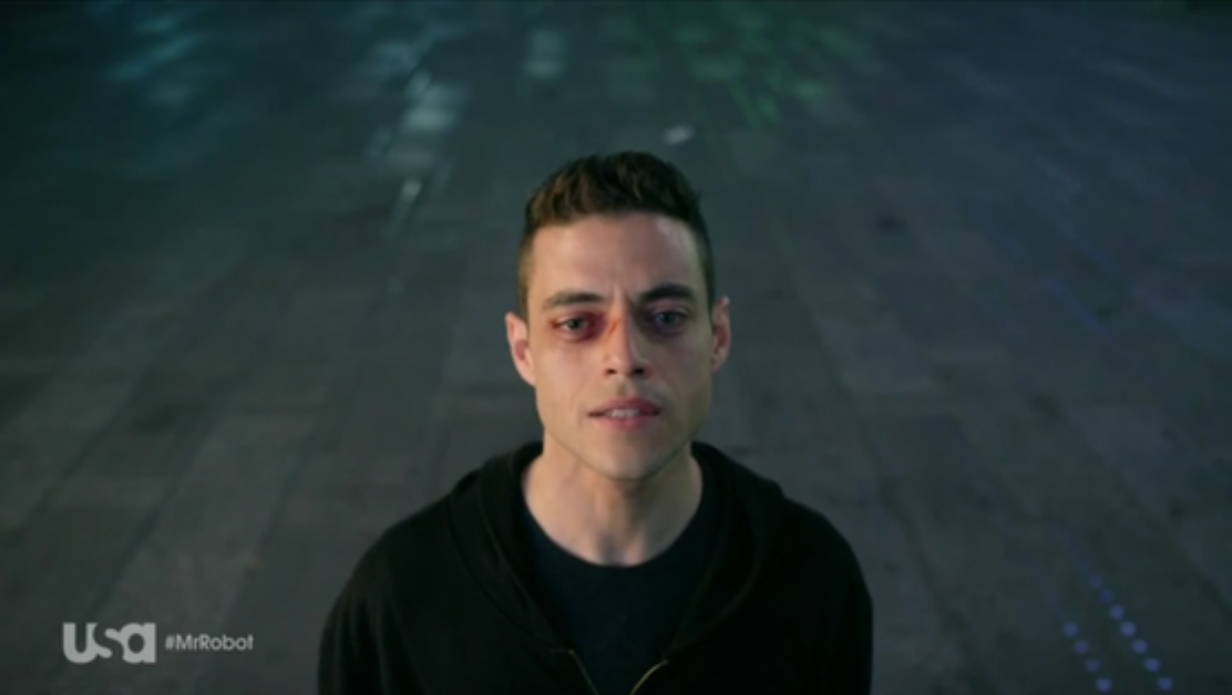 mr. robot depressed elliot