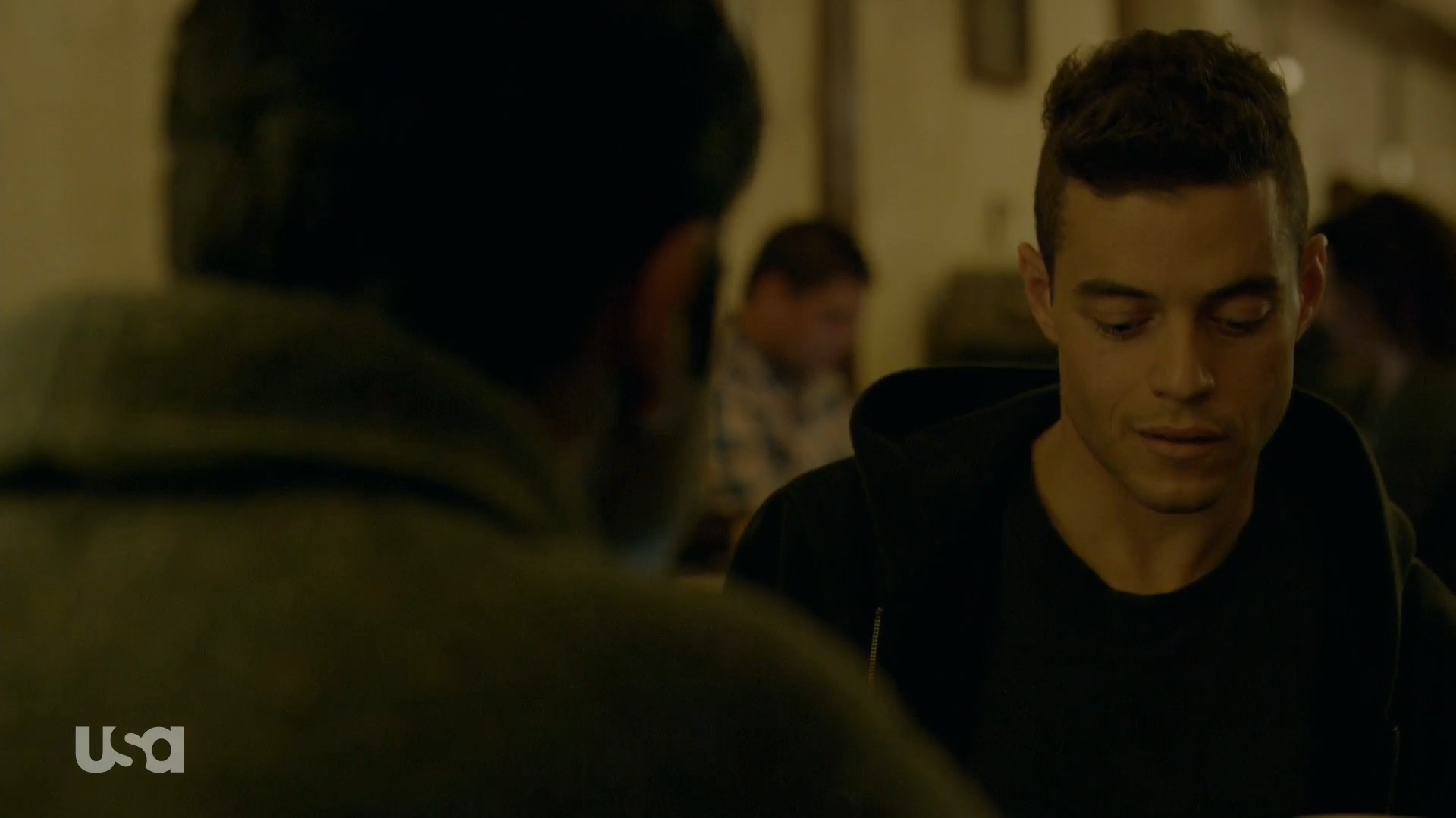 mr. robot elliot sad