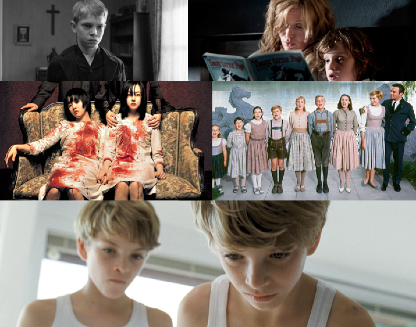 goodnight mommy collage