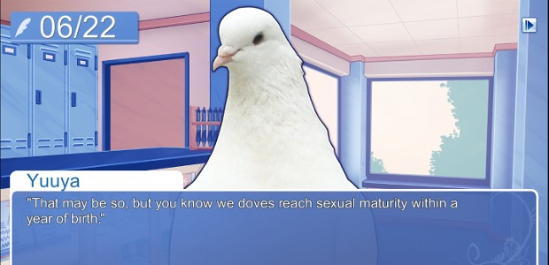 hatoful boyfriend dating pigeon