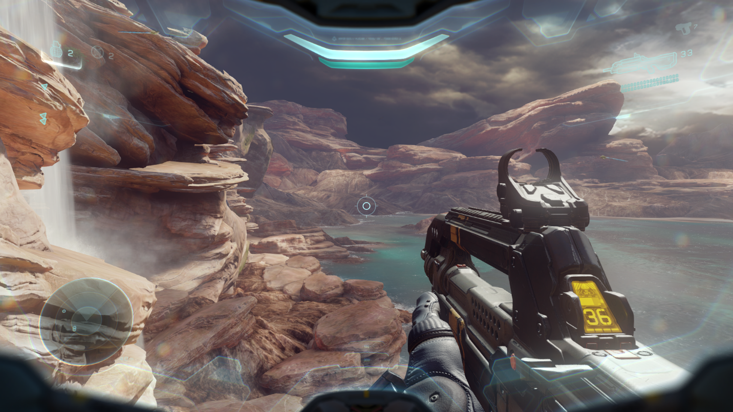 halo 5 view