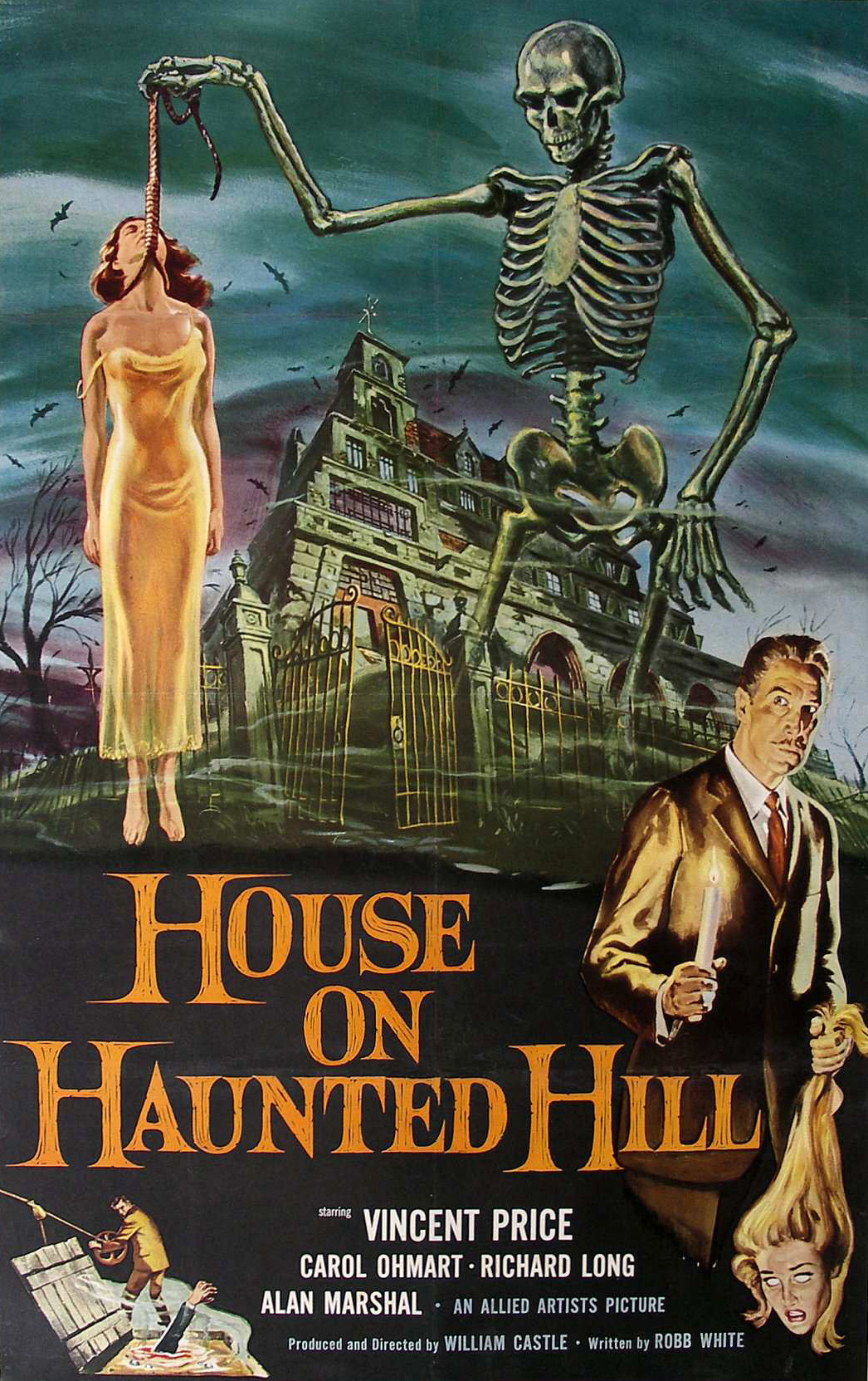 super spooky listicles house on haunted hill