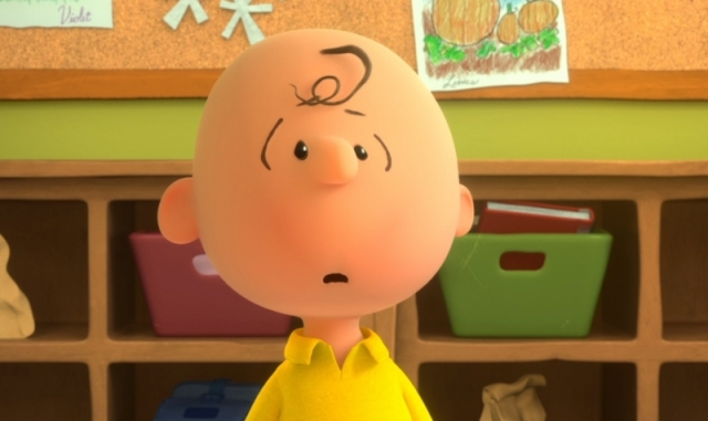 the peanuts surprised charlie brown