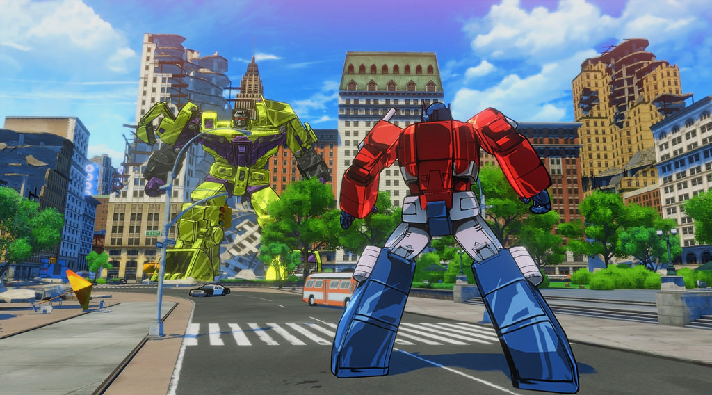 transformers: devastation city