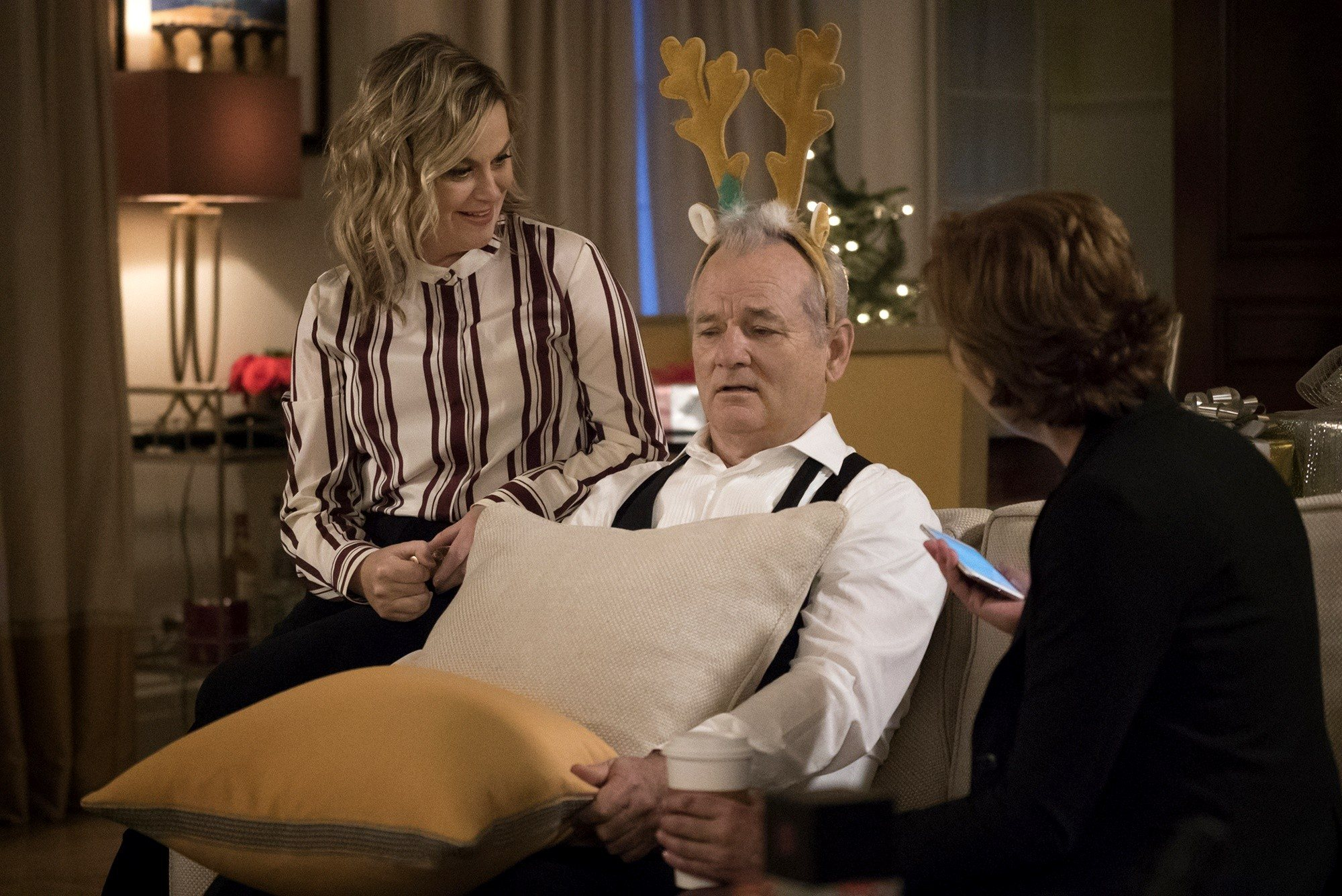 a very murray christmas thanks for set ms poehler