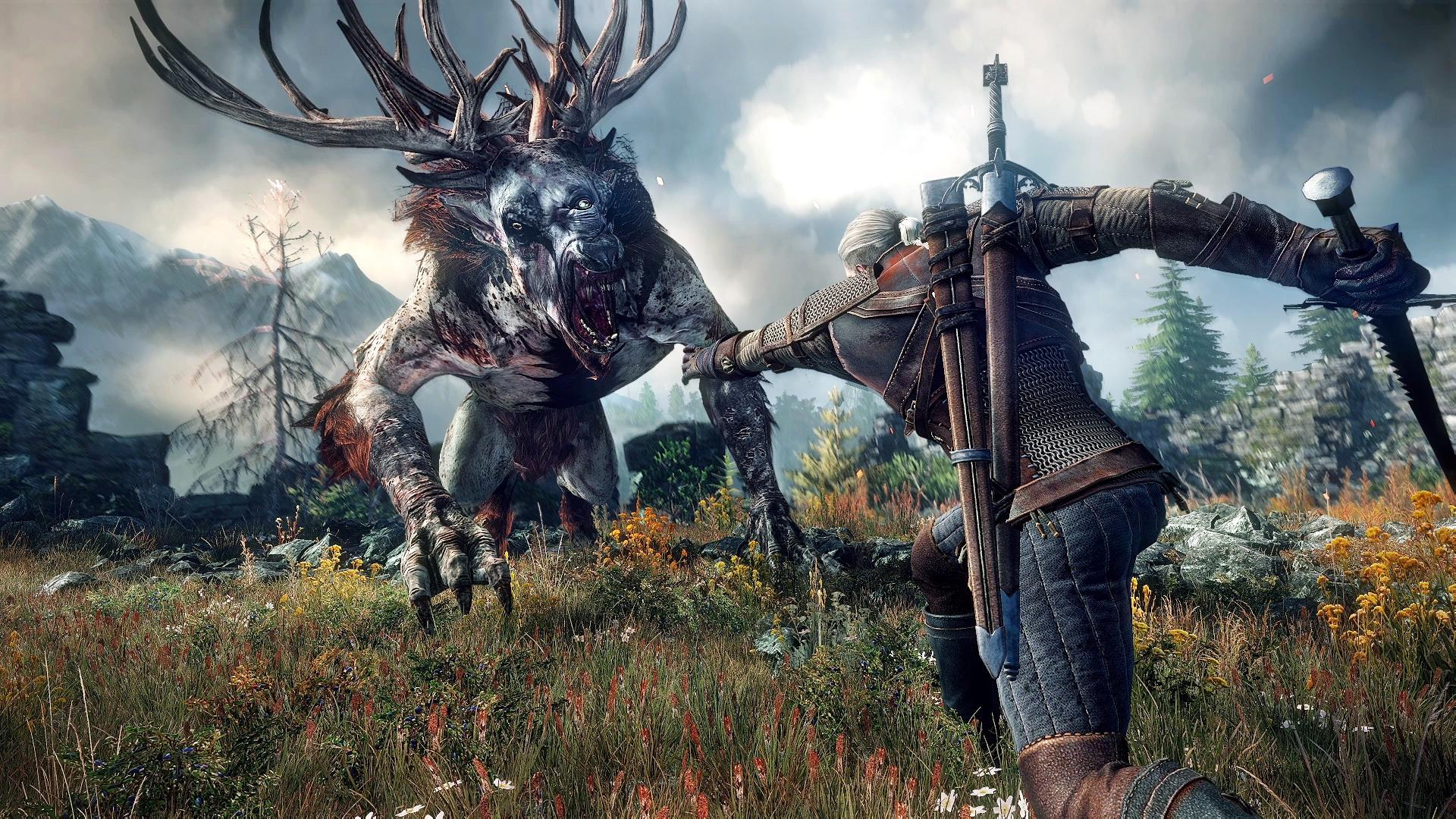 top video games the witcher 3