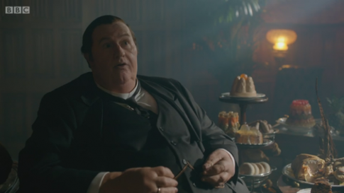 sherlock fat mycroft