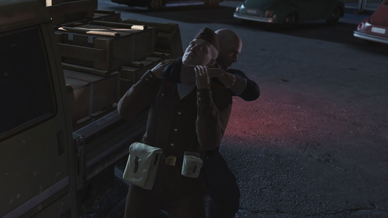 hitman agent 47 drive by