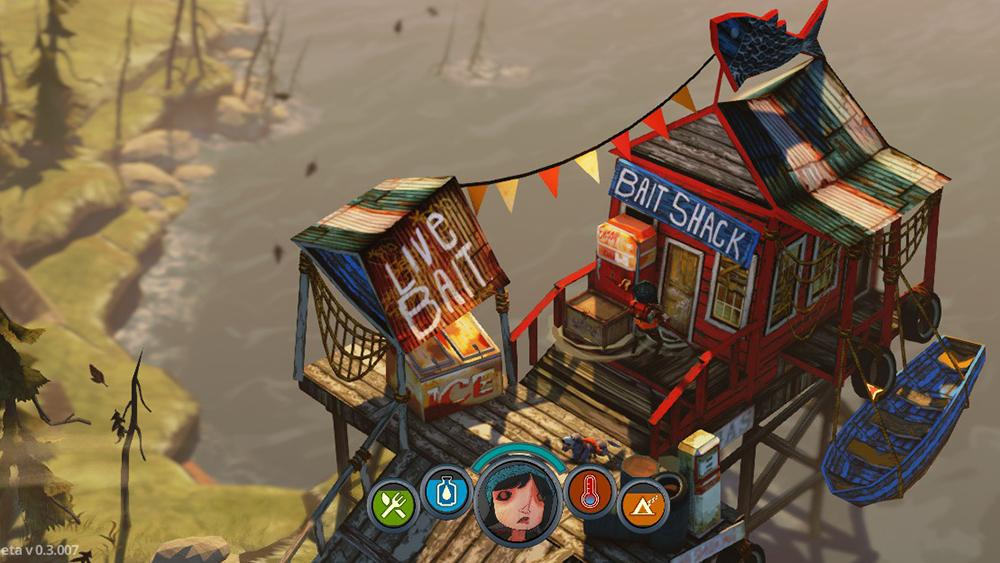 the flame in the flood bait