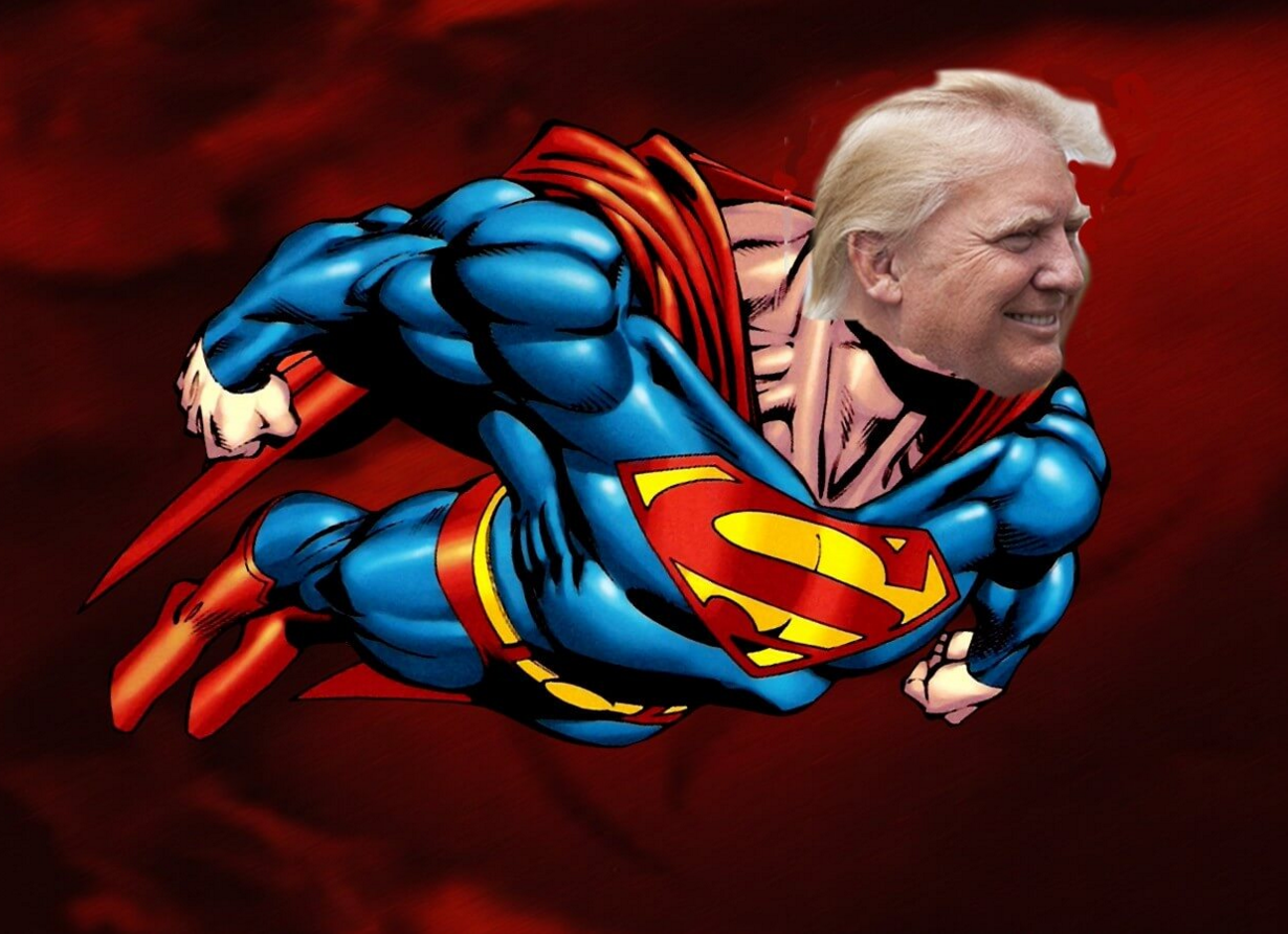 batman v. superman super trump