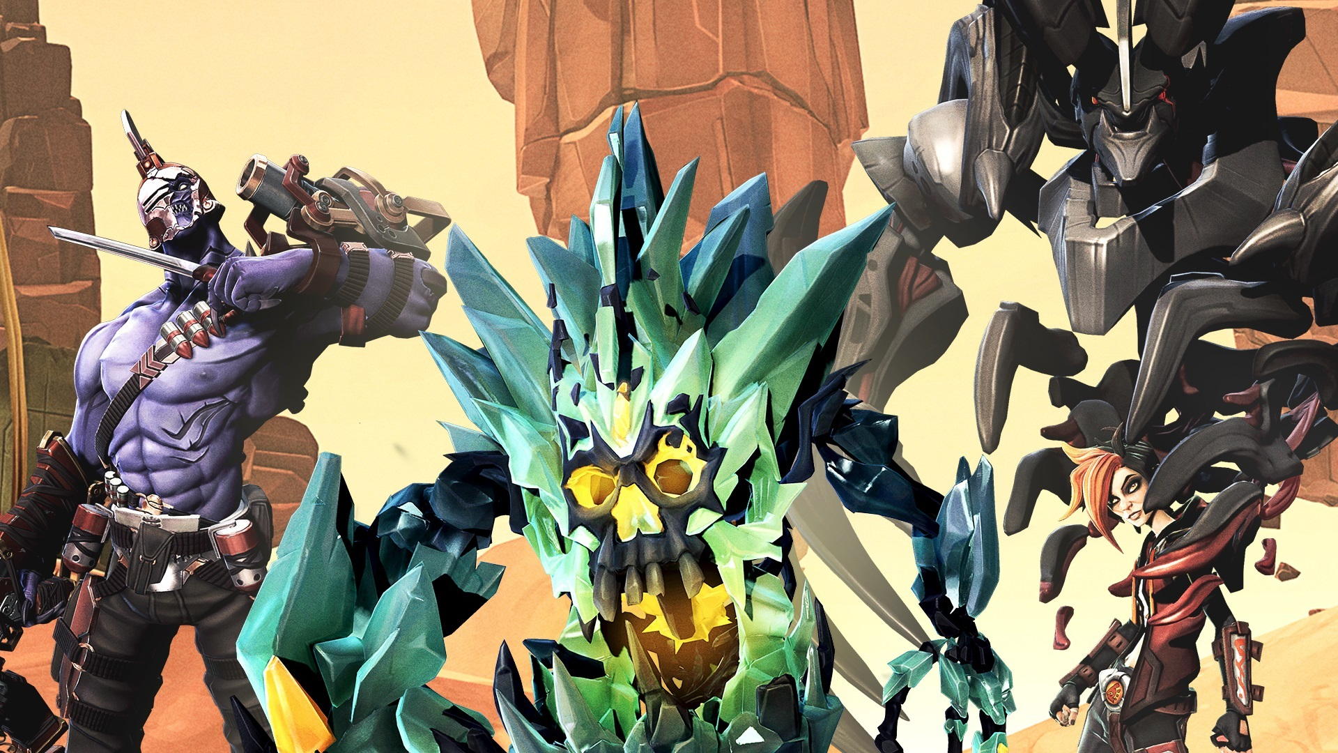 battleborn cool characters