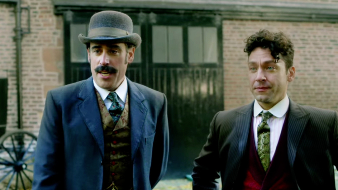 HOUDINI AND DOYLE stephen mangan