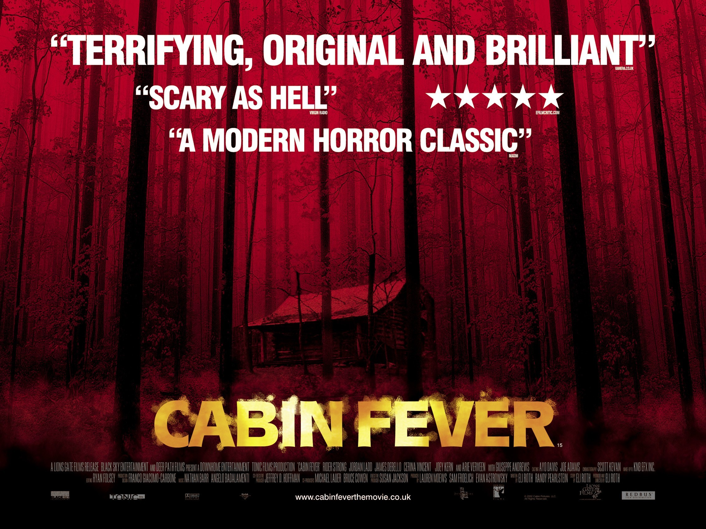 instant picks of the week cabin fever
