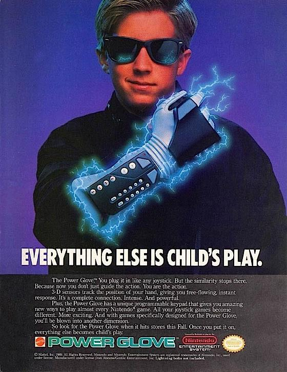 split screen power glove