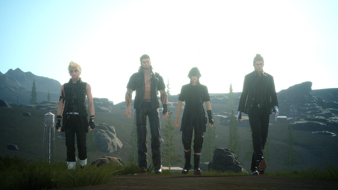 final fantasy xv back