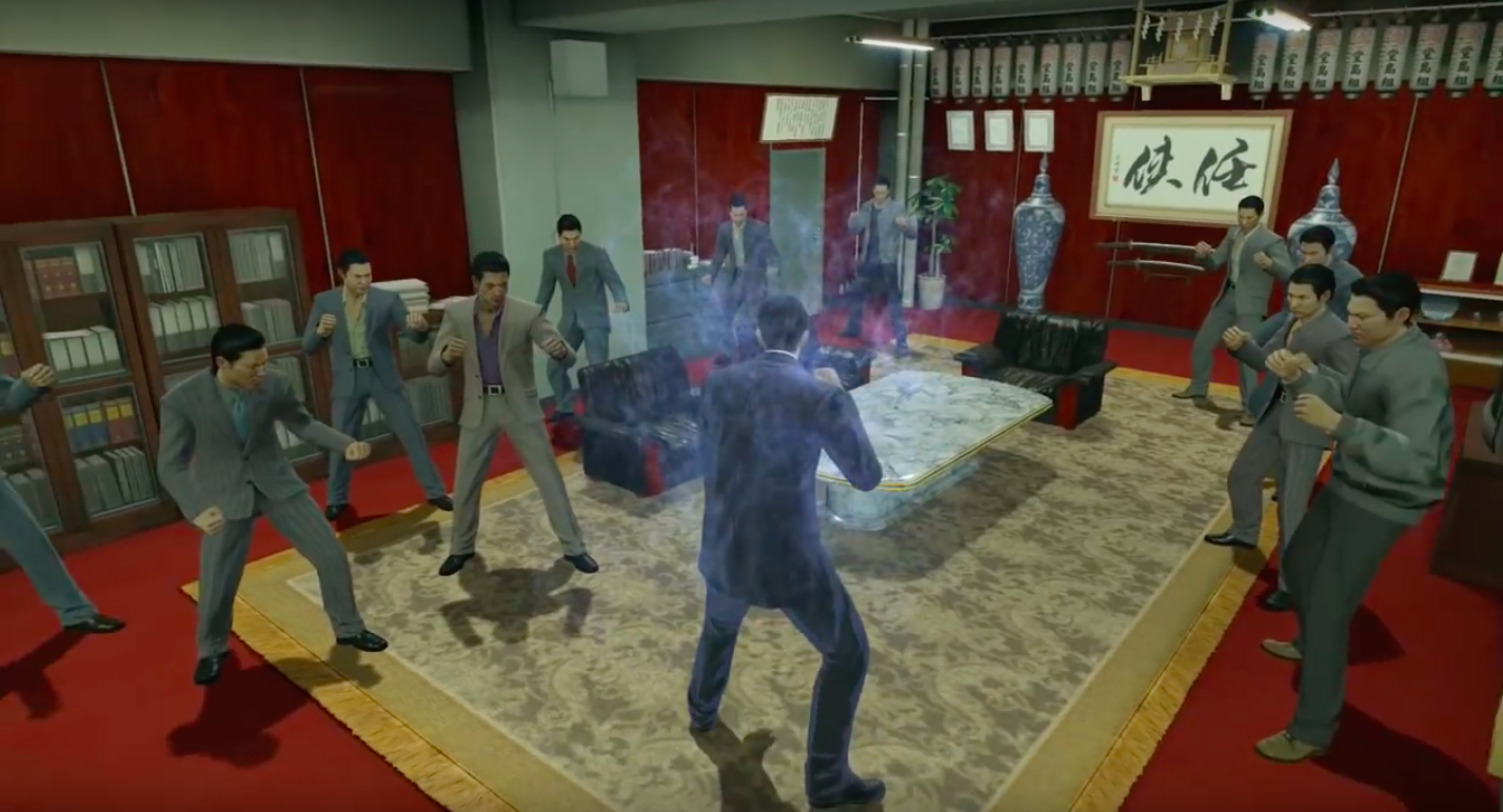 yakuza 0 fighting