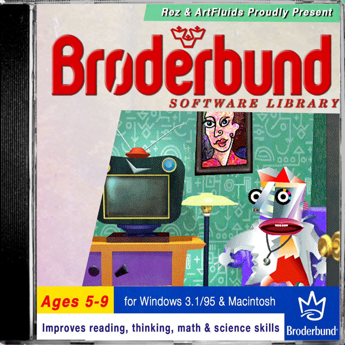 BRØDERBUND SOFTWARE LIBRARY DELUXE