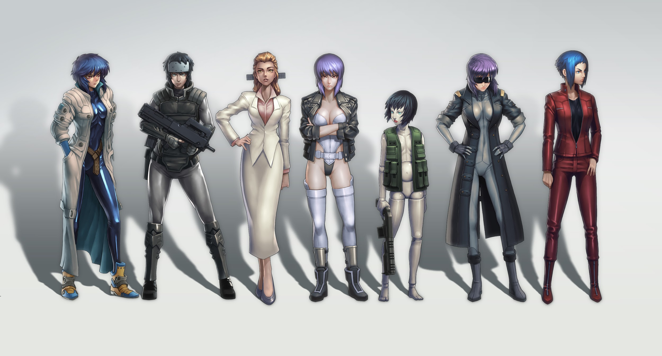 ghost in the shell major