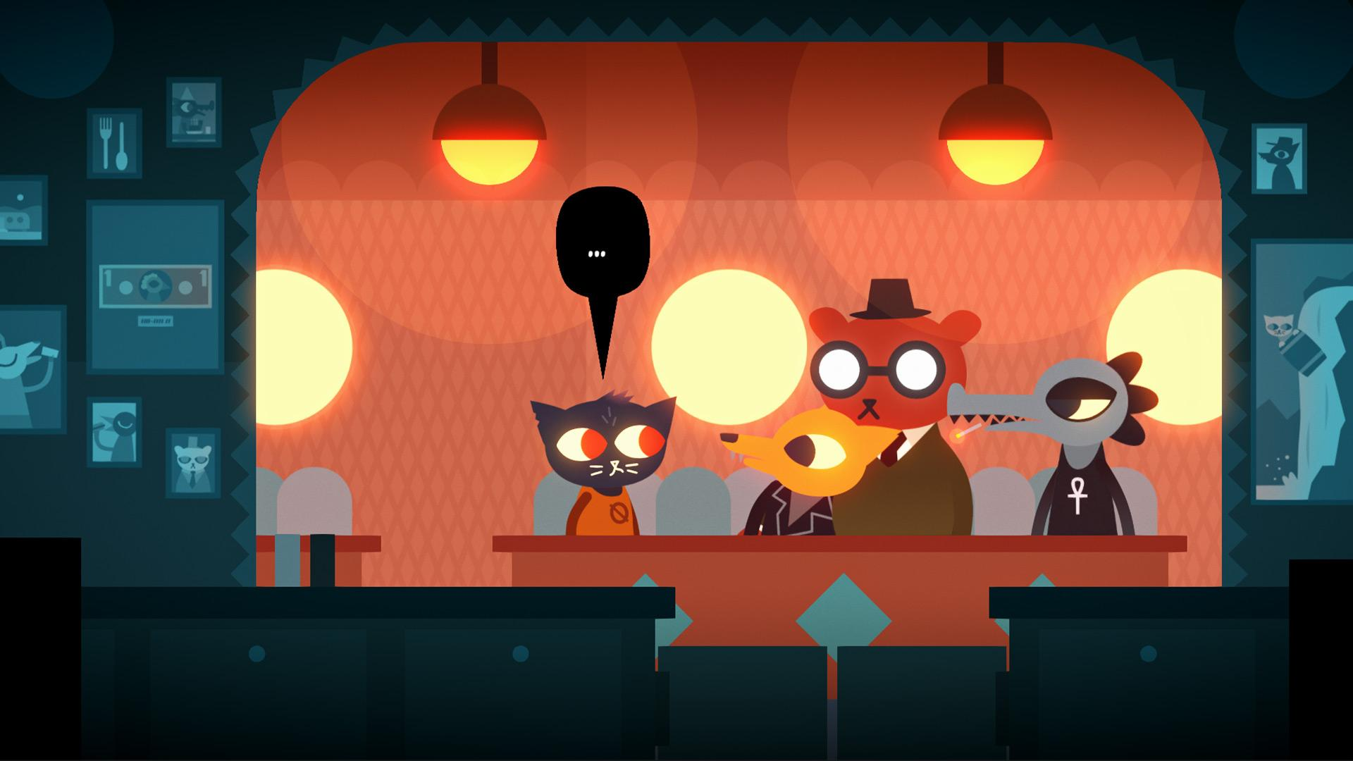 night in the woods pauses