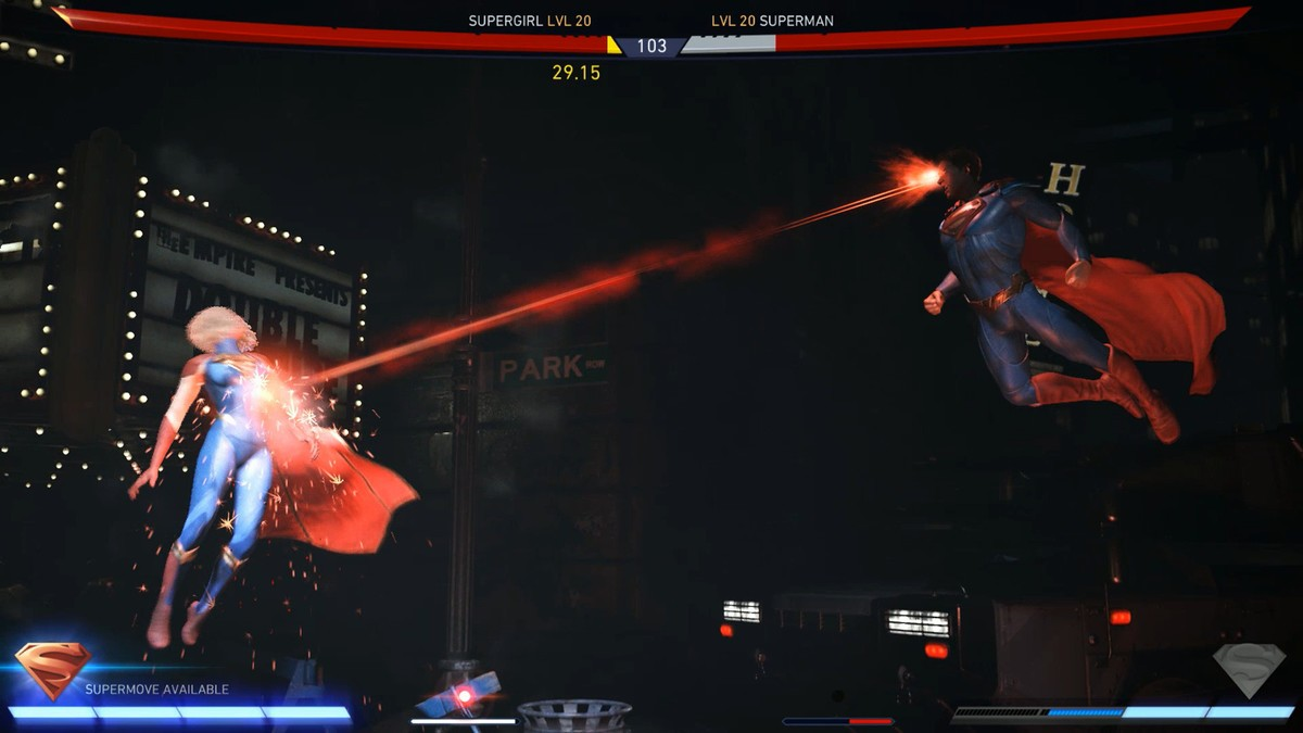 injustice 2 lasers