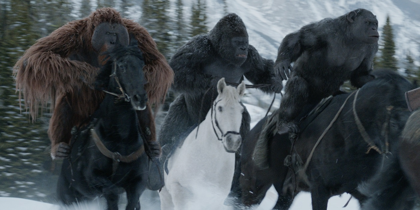war for the planet of the apes gorillas
