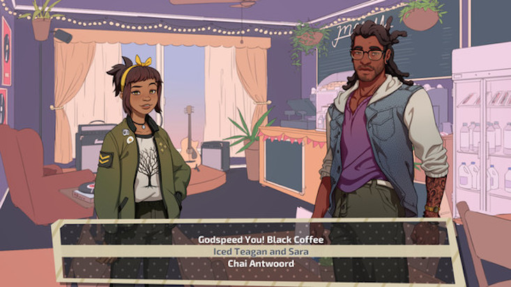 dream daddy coffee