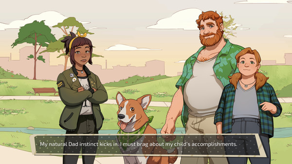 dream daddy park