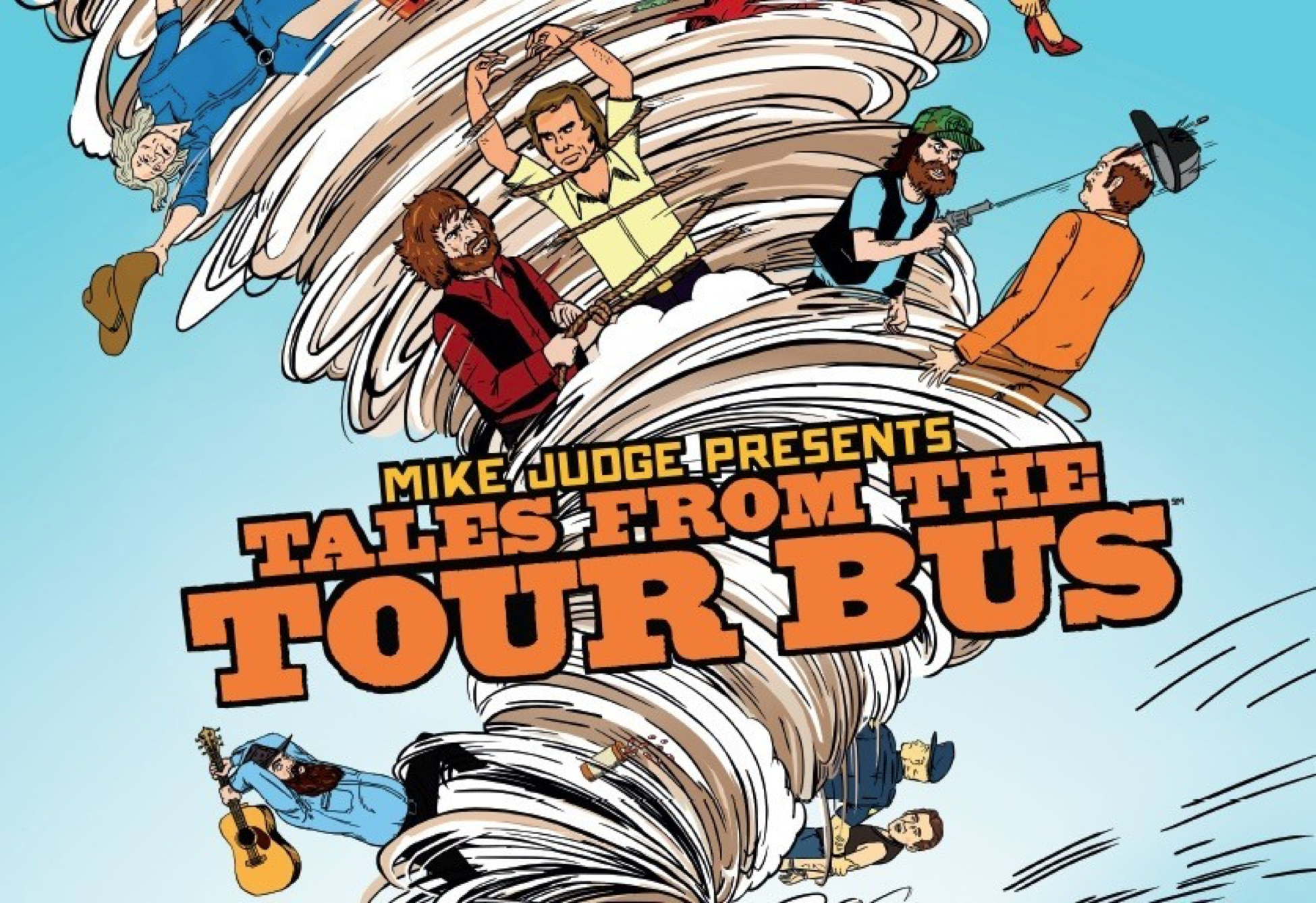 tales from the tour bus