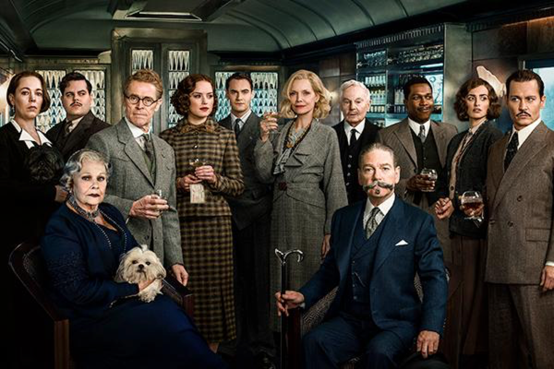 Murder on the Orient Express group
