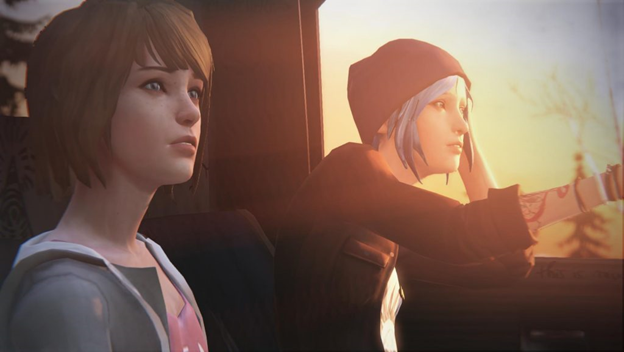 Life Is Strange: Before the Storm car