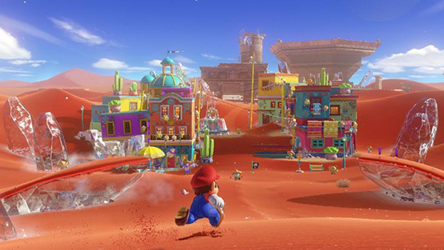 Game of the Year Super Mario Odyssey