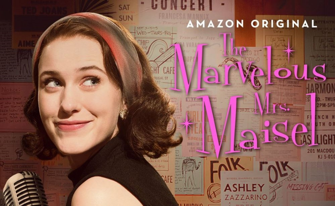 52a9bb0d4d4 Amazon s THE MARVELOUS MRS. MAISEL has a lot working against it  I  understand that a 1950s period piece about a pioneering female stand-up  comedian could ...