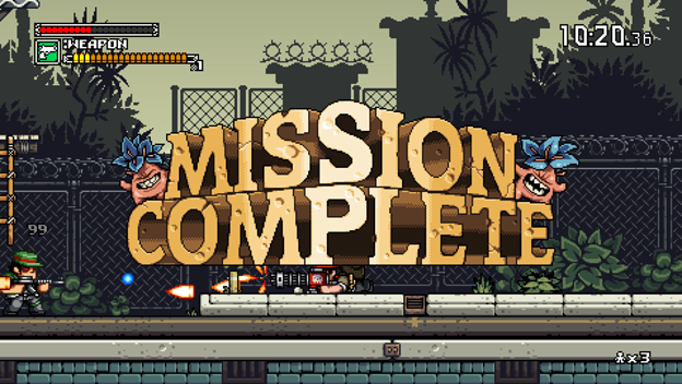 Mercenary Kings: Reloaded mission complete