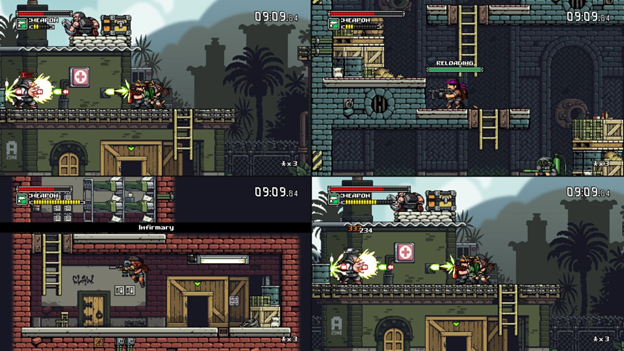 Mercenary Kings four
