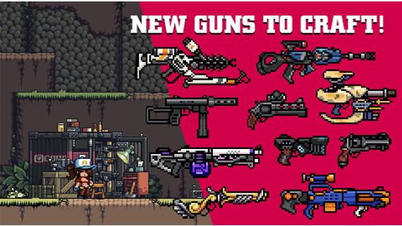 Mercenary Kings new guns
