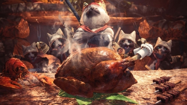 Monster Hunter World porg