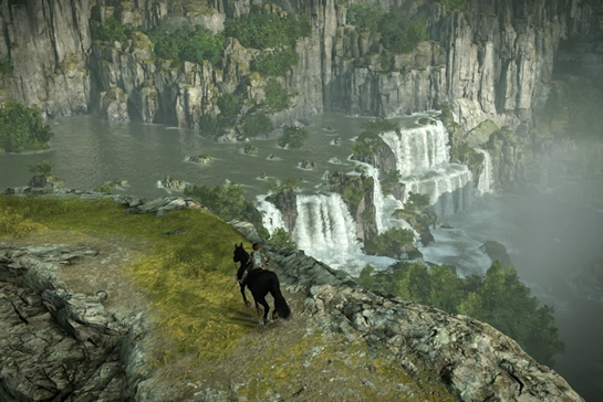 Shadow of the Colossus water
