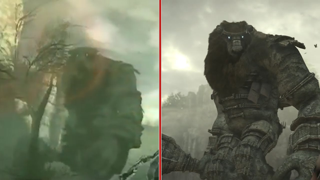 Shadow of the Colossus comparison