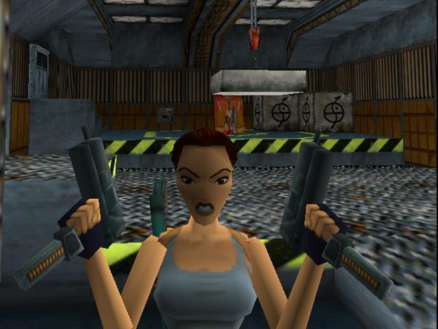 Lara Croft guns
