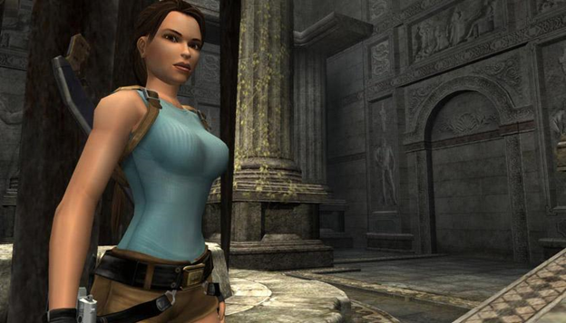 Lara Croft tomb