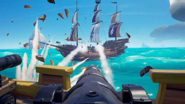 Sea of Thieves galleon
