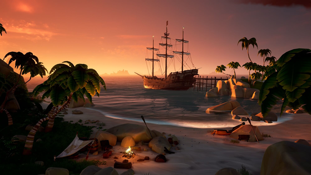 Sea of Thieves sun