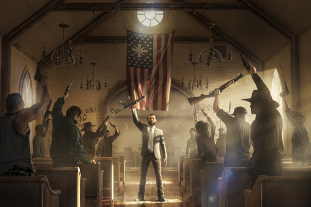 Far Cry 5 church