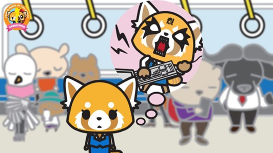 Aggretsuko train