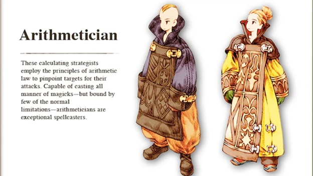 Final Fantasy Tactics Arithmetician