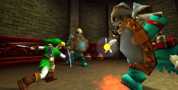 Ocarina of Time dungeon