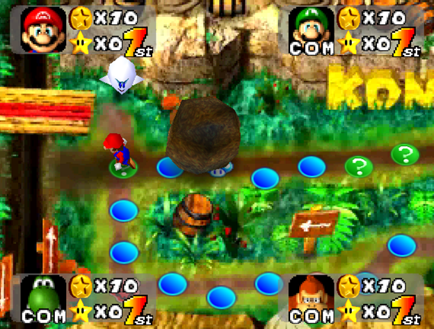 Mario Party jungle