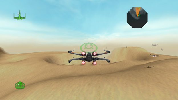 Replay 1998 Rogue Squadron gameplay